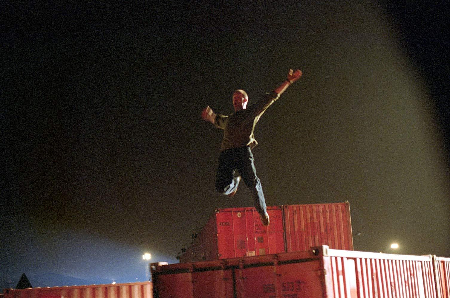 フランクのジャンプシーン