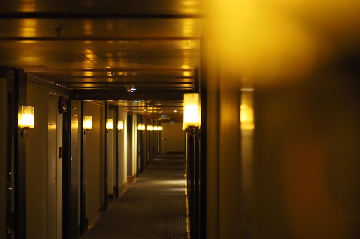 タイのグランドハイアット廊下