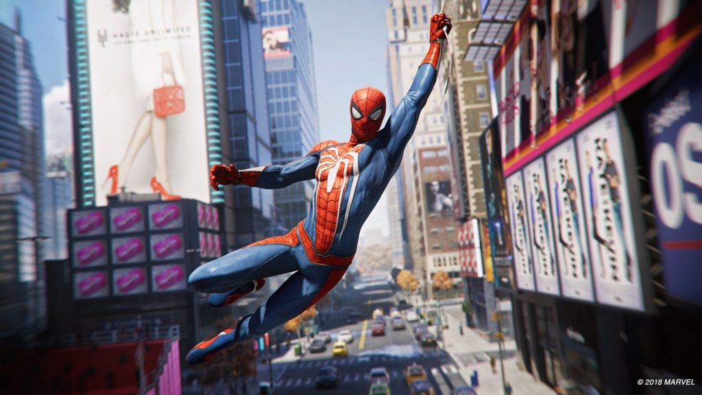 PS4スパイダーマンゲーム画像