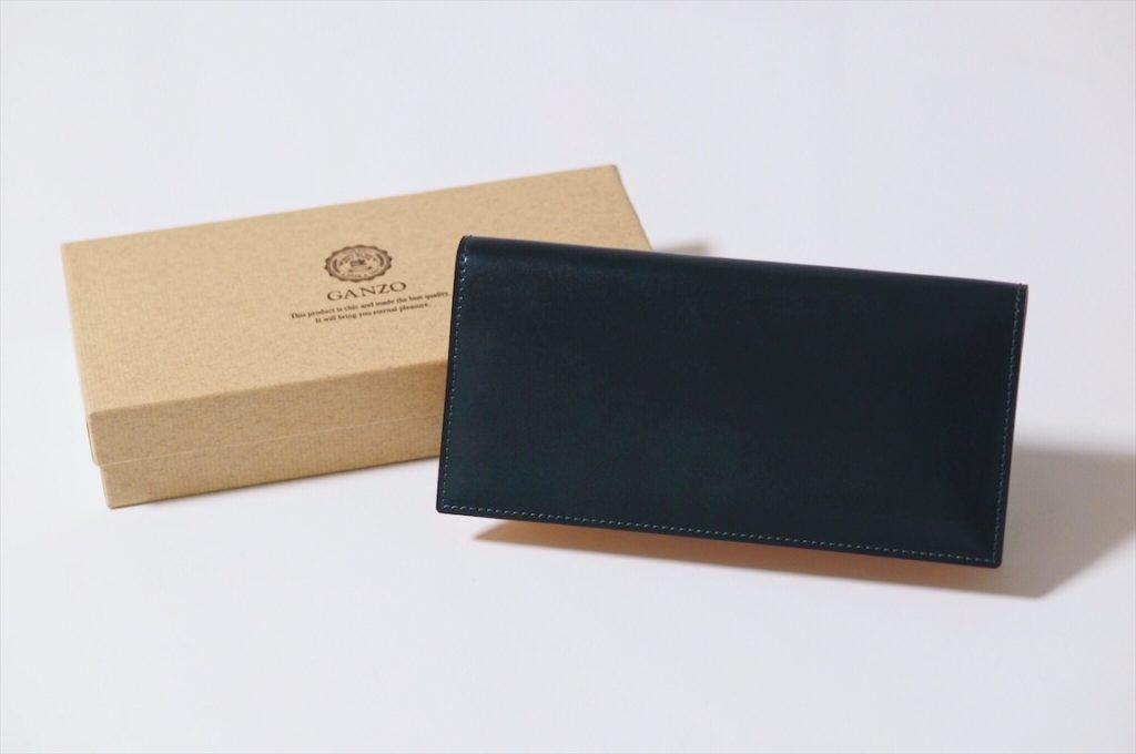 huge selection of 4338c 00e38 GANZO(ガンゾ)の最高級コードバンを使った長財布。触れるたび ...