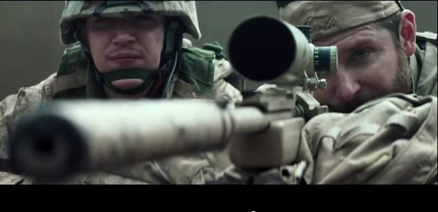 クリスの狙撃シーン