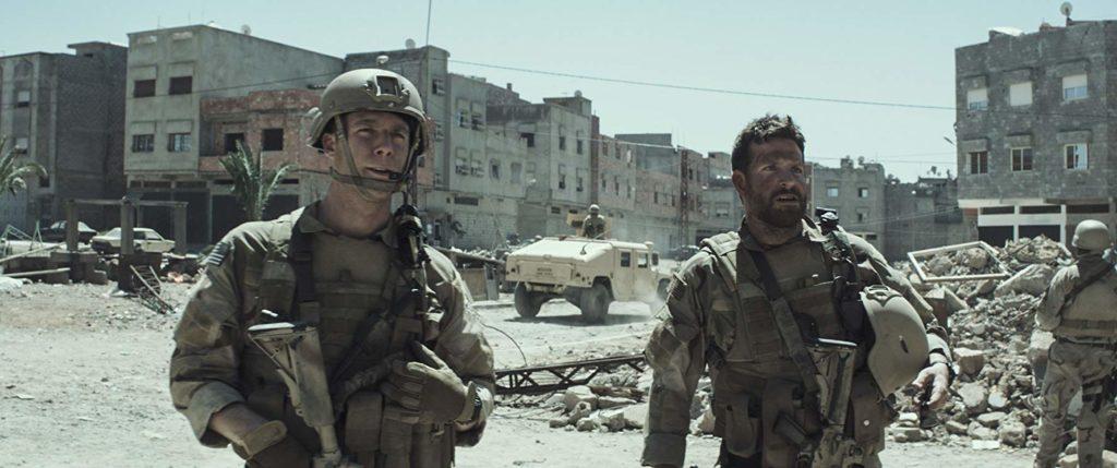 イラクの戦場シーン
